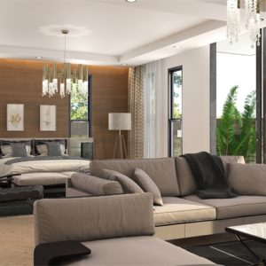 Humanized Design Two Storey Villa Home Furniture Set