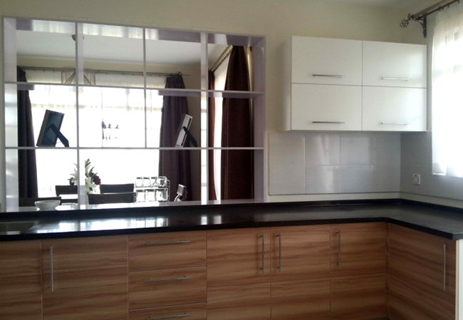 Oppein kitchen in africa kenya apartment project small for Kitchen design kenya