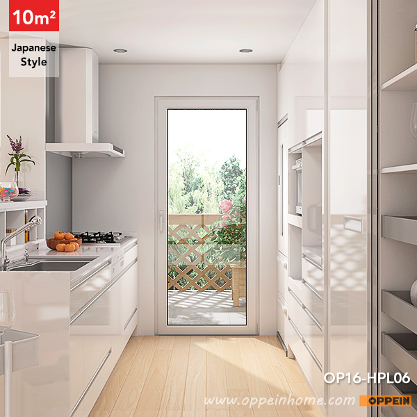 OPPEIN Kitchen In Africa » OP16-HPL06: 10 Square Meters