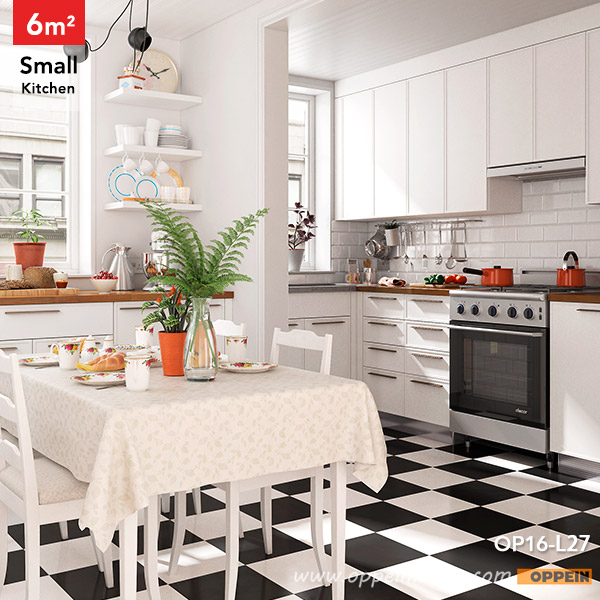 OPPEIN Kitchen In Africa » OP16-L27:6 Square Meters L