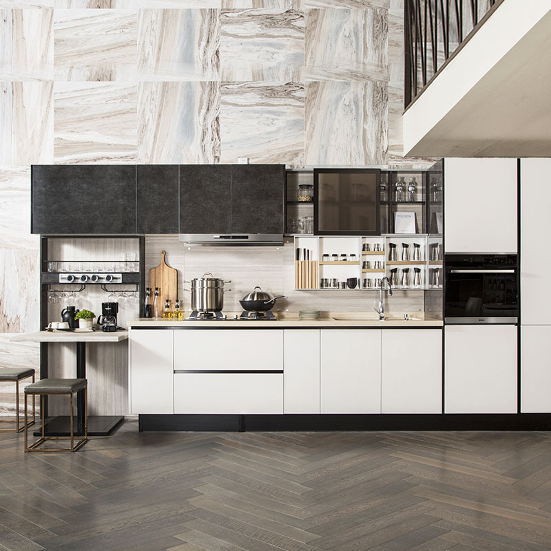 Kitchen Cabinet Lines: OPPEIN Kitchen In Africa » Laminate And UV Lacquer