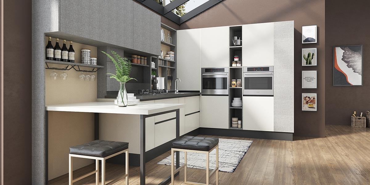 L-shape-Melamine-Gray-White-Kitchen-PLCC17017C (4)