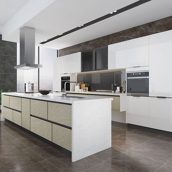 High Gloss Kitchen Island: OPPEIN Kitchen In Africa » High Gloss White Lacquer