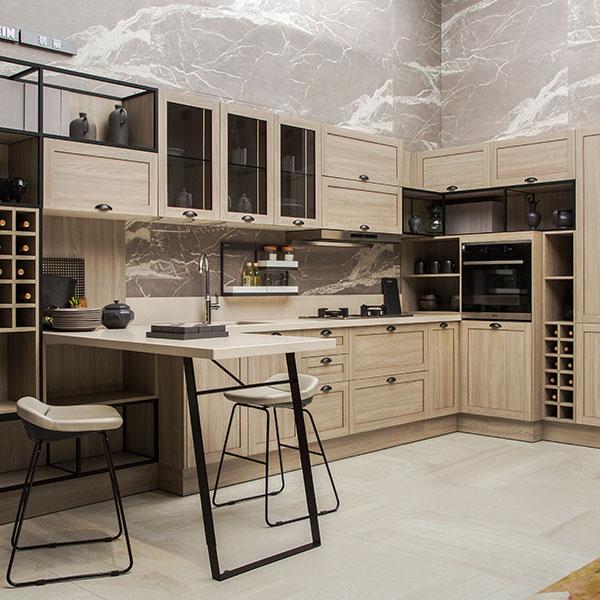 Modern Wood Grain Kitchen: OPPEIN Kitchen In Africa » Italian Modern Design Wood