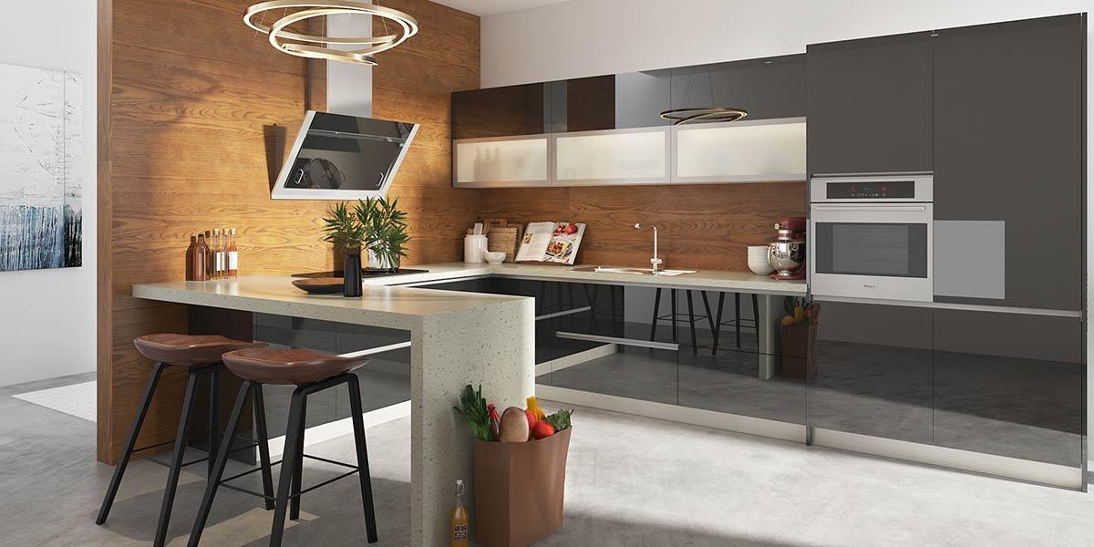 Modern-Fashion-Black-Lacquer-Shaker-Kitchen-OP19-L07 (2)