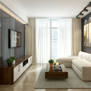 Popular-Modern-Wood-Grain-Whole-House-Design-OP19-HS03