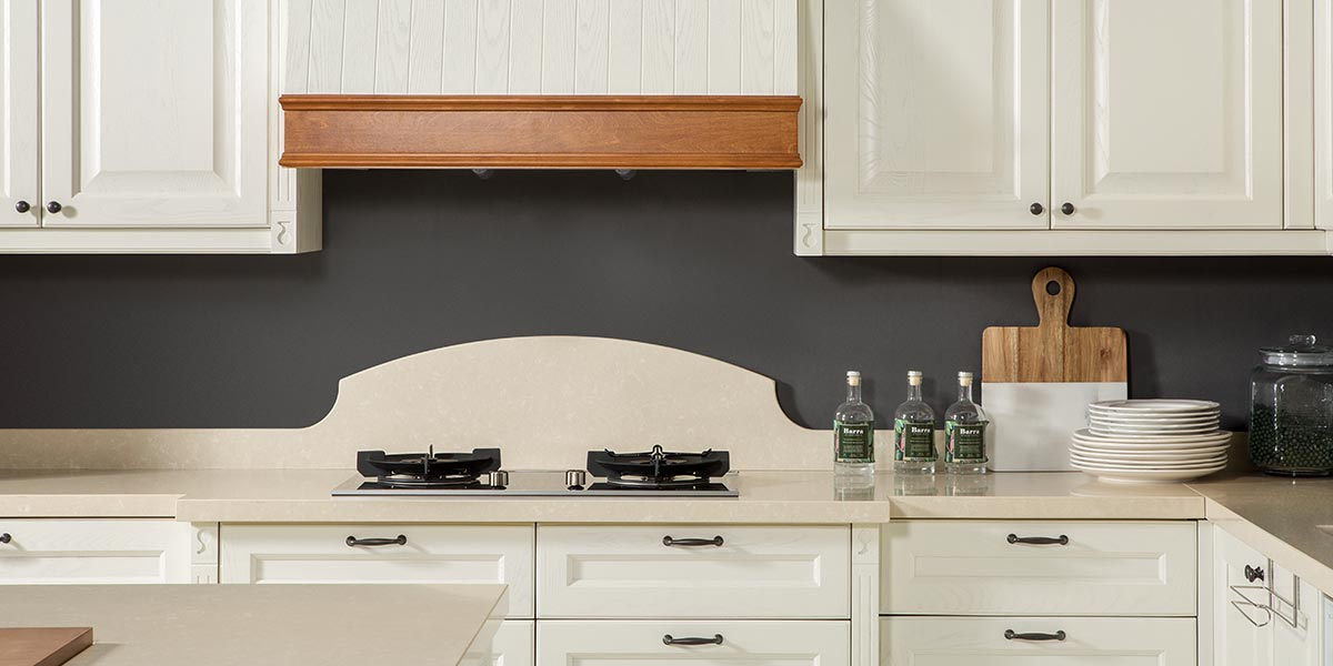 White-L-Shape-Solid-Wood-Kitchen-Cabinet-With-Island-PLCC19102 (4)