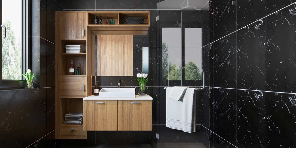 2019-Functioanal-Wood-Grain-Bathroom-Cabinet-PLWY19071A (4)