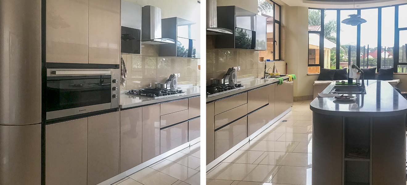 OPPEIN Kitchen in africa » Kenya Nairobi Villa Project