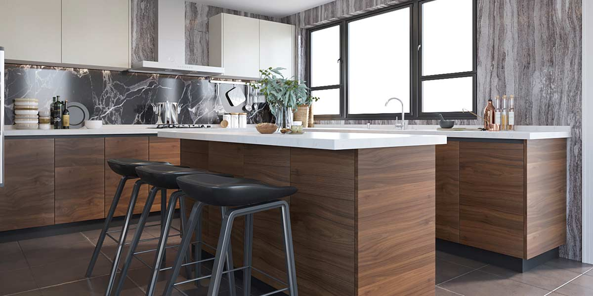 Large-Wood-Grain&White-Melamine-Kitchen-With-Island-OP19-M03 (4)
