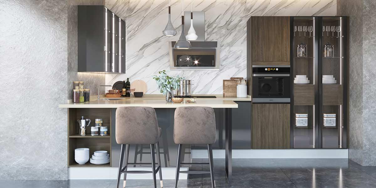 U-Shape-Melamine-Dark-Color-Kitchen-Cabinet-OP19-M04 (2)
