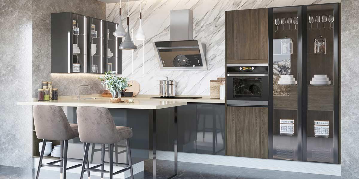 U-Shape-Melamine-Dark-Color-Kitchen-Cabinet-OP19-M04 (3)
