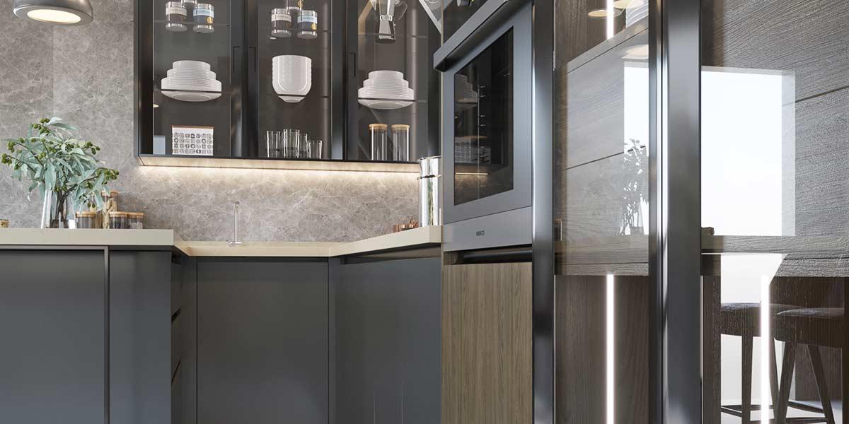 U-Shape-Melamine-Dark-Color-Kitchen-Cabinet-OP19-M04 (4)