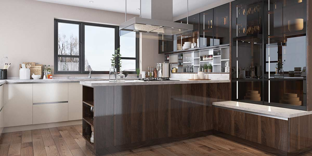 Wood-Brown-High-Gloss-UV-Lacquer-Kitchen-Cabinet-OP19-L09 (3)