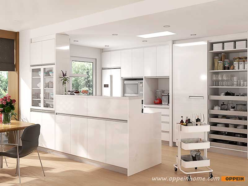 Oppein Kitchen In Africa 187 Op16 Hpl06 10 Square Meters
