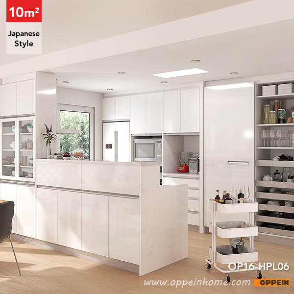 Kitchen Designs In South Africa: OPPEIN Kitchen In Africa » OP16-HPL06: 10 Square Meters
