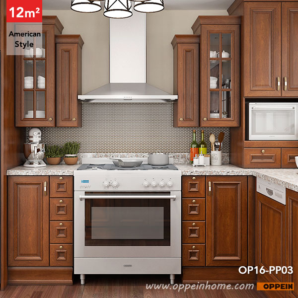 Oppein kitchen in africa op16 pp03 12 square meters u for American style kitchen