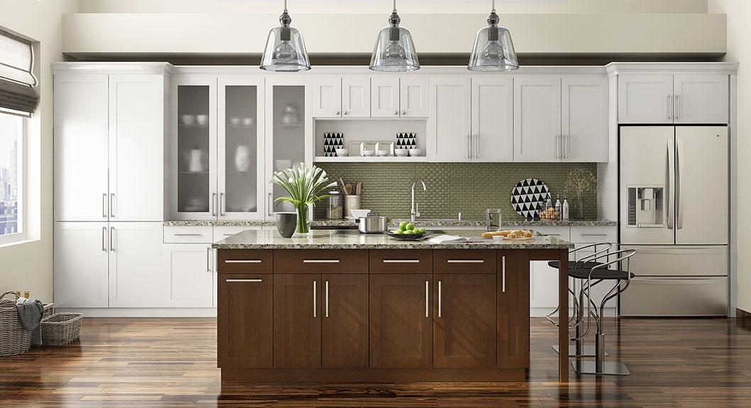 oppein kitchen in africa » shaker style straight line