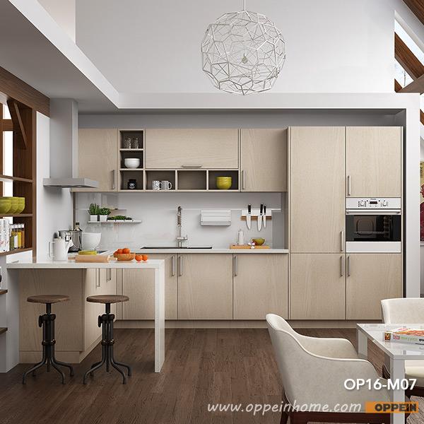 Modern Wood Grain Kitchen: OPPEIN Kitchen In Africa » Modern Light Wood Grain Kitchen
