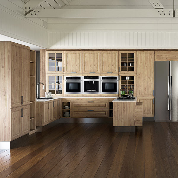 Thermofoil-Kitchen-Cabinet-in-Rustic-Style-OP15-PP08 (1)