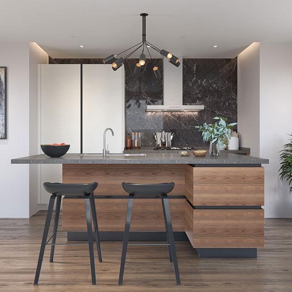 Small-Wood-Grain-Melamine-Kitchen-OP19-M01