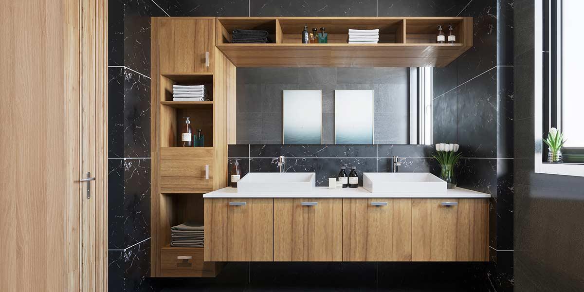 2019-Functioanal-Wood-Grain-Bathroom-Cabinet-PLWY19071A (3)