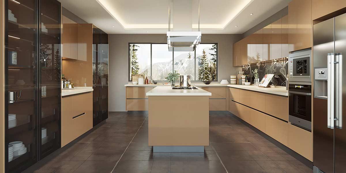 Laminate-Island-Kitchen-Cabeint-With-Transparent-Design-OP19-HPL01-2