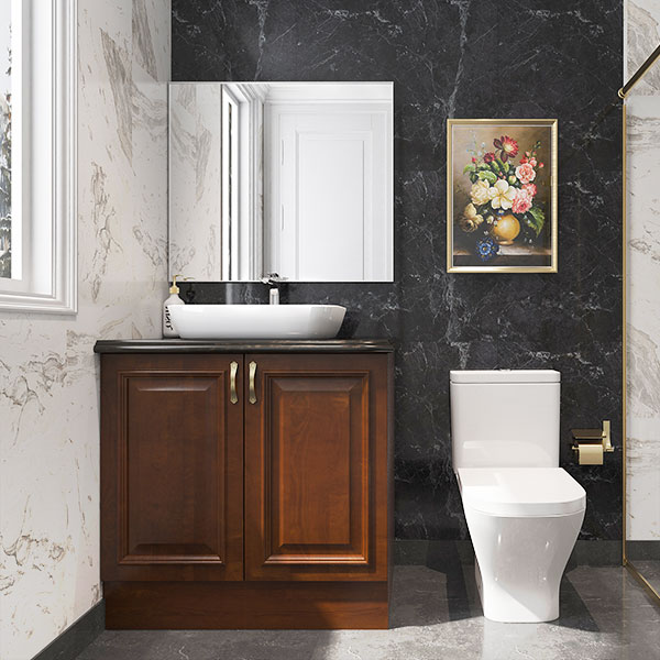 Small-Solid-Wood-Bathroom-Cabinet-With-Glass-PLWY19789A