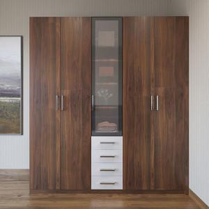 Wood-Grain-Double-door-Hinged-Wardrobe-YG19-M01