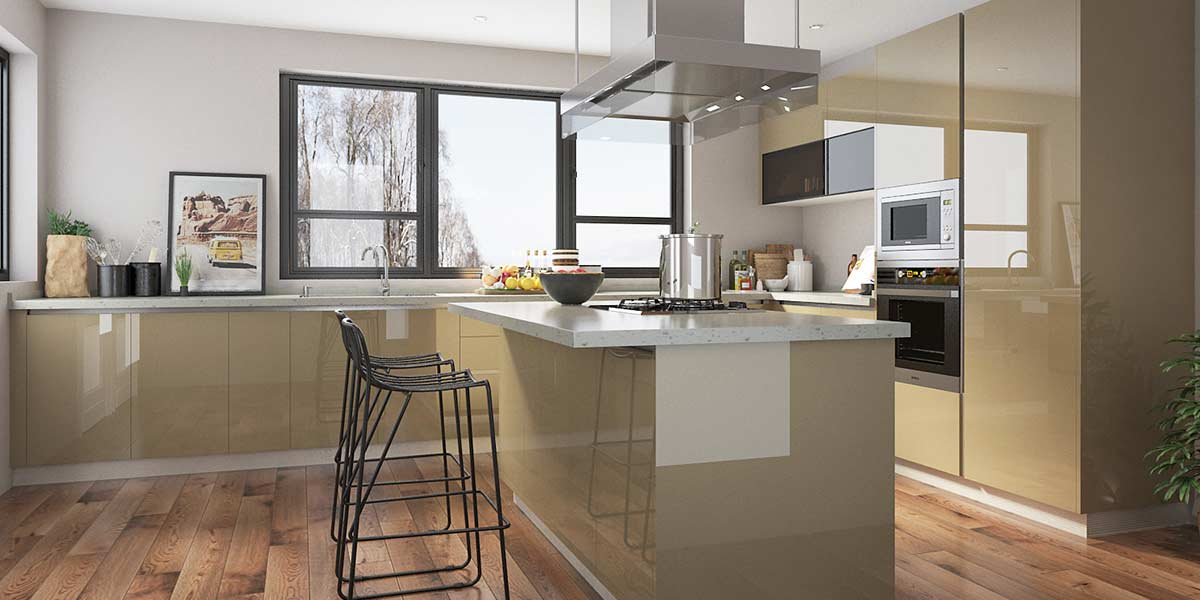OPPEIN Kitchen in africa » High Gloss Large Laminate ...