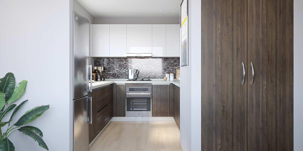 U-Shape-Mixture-Kitchen-Cabinet-Laminate&Lacquer-OP19-HPL02 (2)