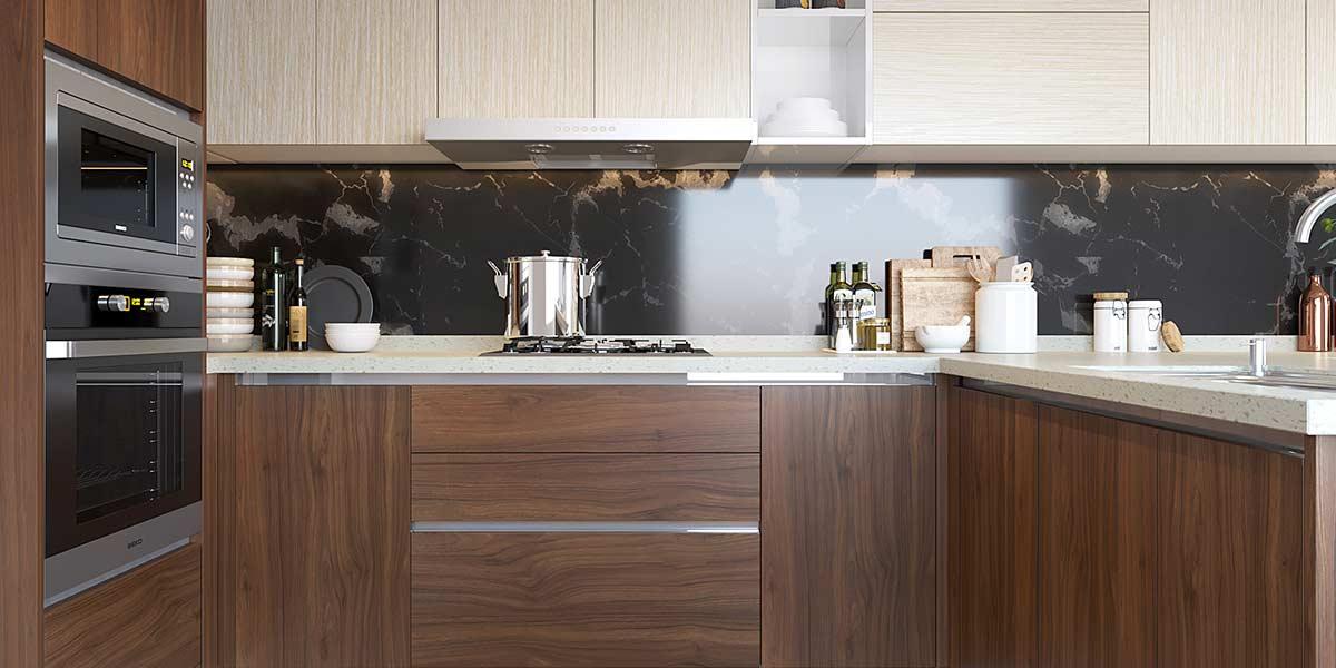 Irregular-Shape-Melamine-Kitchen-With-Island-OP19-M06(4)
