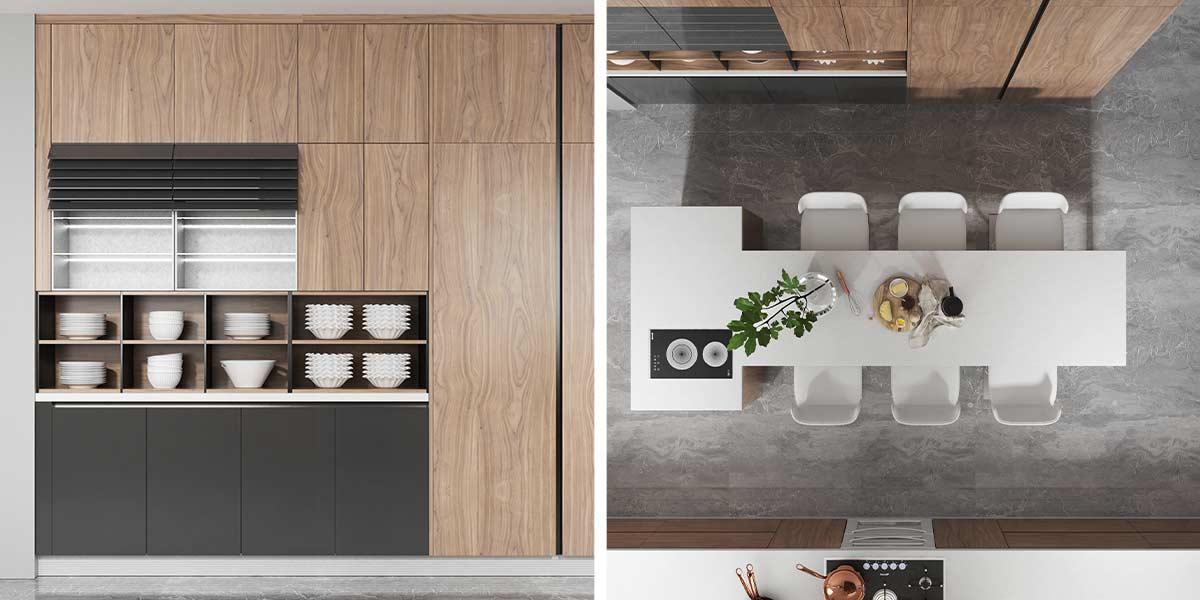 Comtemporary-Wood-Veneer-Kitchen-Cabinet-With-Island-OP20-018(4)