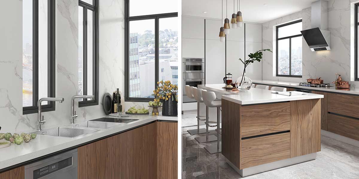 Comtemporary-Wood-Veneer-Kitchen-Cabinet-With-Island-OP20-018(5)